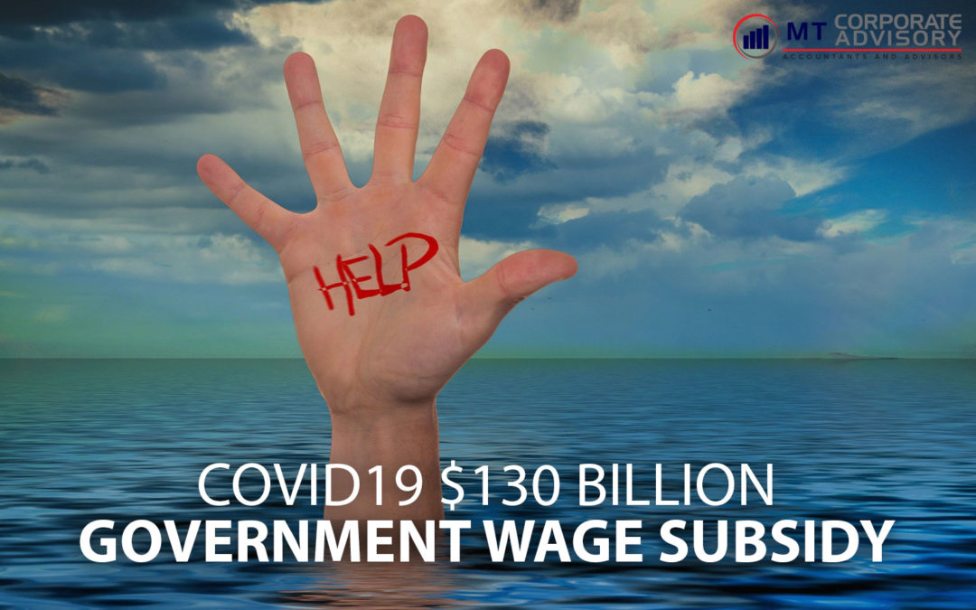 COVID19 $130 Billion Government Wage Subsidy