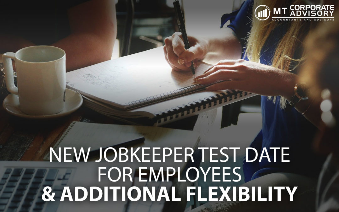 New JobKeeper test date for employees & additional flexibility
