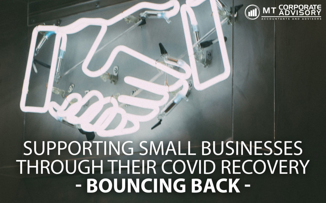 Small business support – Bouncing back from COVID19